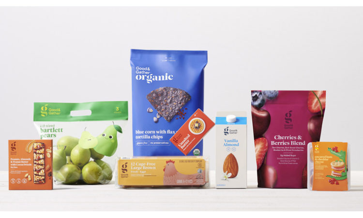 Target to Launch 'Good & Gather' Food Brand