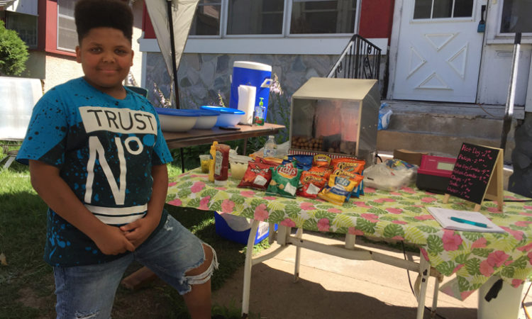 How a 13-Year-Old's Hot Dog Stand Became Northside's Newest (Official) Eatery