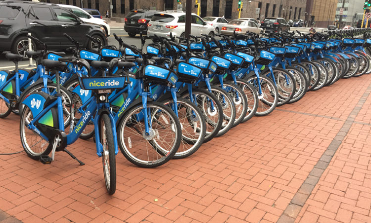 Nice Ride Officially Rolls Out Hub-Based Dockless Bikeshare Program in Minneapolis