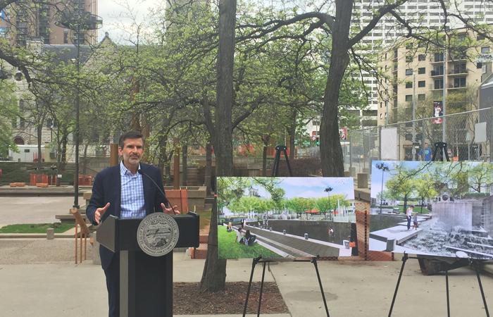 Peavey Plaza's $10M Upgrade is Underway in Downtown Minneapolis