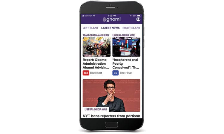 How Biased Is the News? There's a New App to Measure That