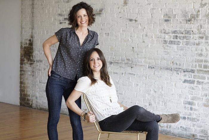 Britt Jungerberg (left) and Sara Doherty (right)