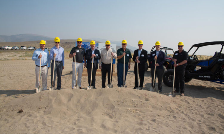 Polaris Breaks Ground on 475,000 Square-Foot Facility in Nevada