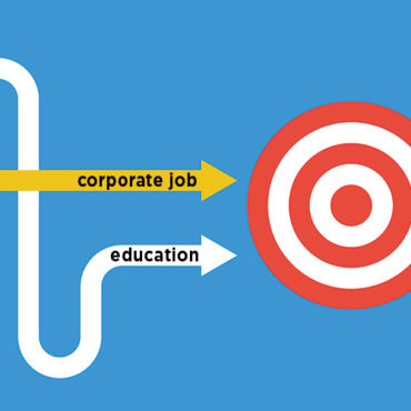 Schooling Entrepreneurs with a Corporate Job?