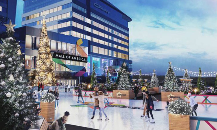 Coming Soon: Mall of America Introducing Ice Skating Rink Outside North Entrance