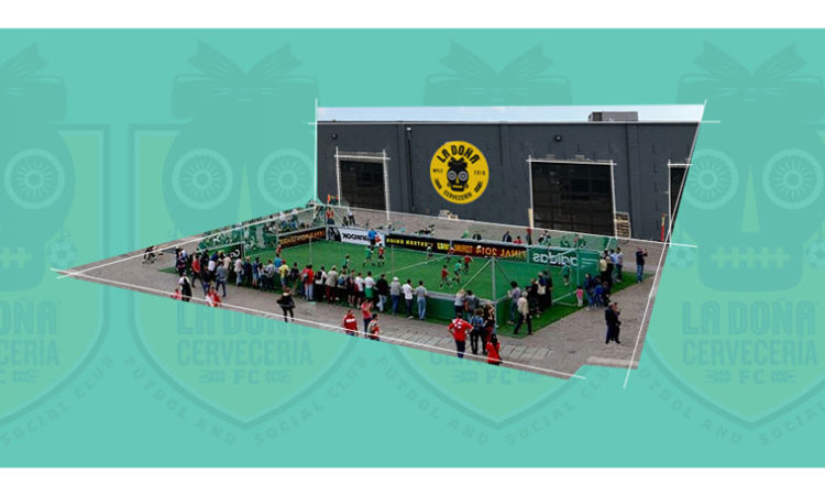 Latino-Influenced Brewery with Attached Soccer Field Opening in Minneapolis