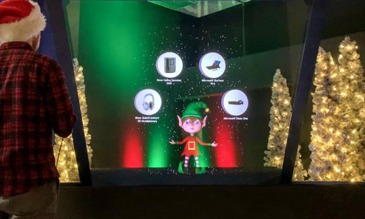 Stuck on What to Gift? Mall of America's Hologram Ellie the Elf Offers New Way to Shop