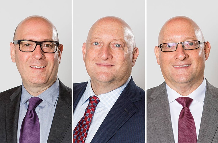 Ben Gray, Jeff Gray, and Scott Gray