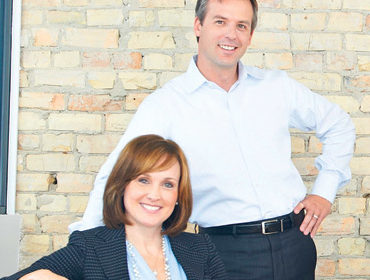 Kristin Pardue and Brad von Bank