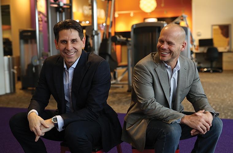 Chuck Runyon and Dave Mortensen