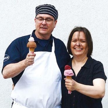 Jeff Sommers and Lara Hammel