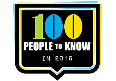 The TCB 100: People to Know in 2016