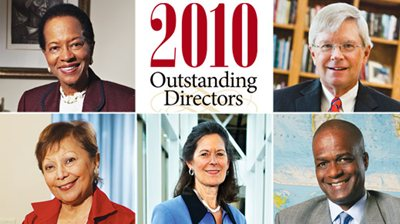 2010 Outstanding Directors
