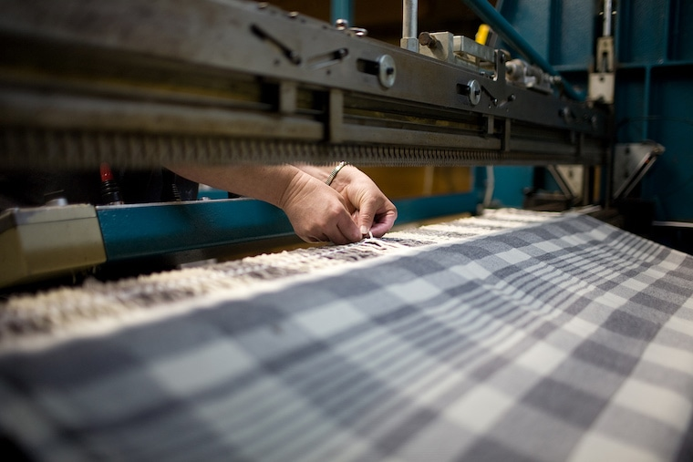 Faribault Woolen Mill Co. Keeps Spinning—Government Orders