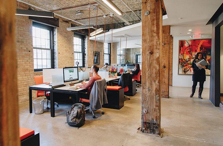 Office Envy: Media Bridge Advertising