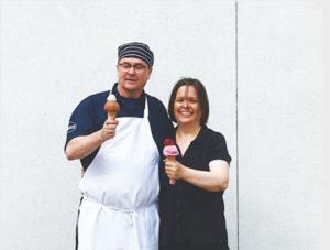 Izzy's Ice Cream Owners