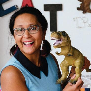 T-Rex Cookie Founder Tina Rexing
