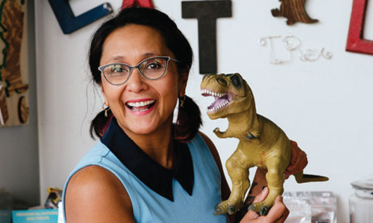 T-Rex Cookie Founder Tina Rexing