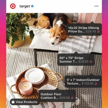 As Digital Sales Soar, Target Rolls Out Instagram Shopping