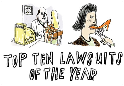 The Top 10 Lawsuits Of 2012