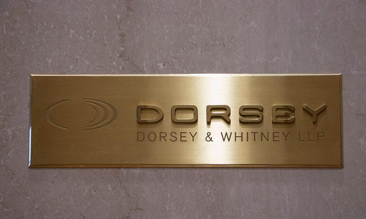 Dorsey & Whitney Ends Misdemeanor Prosecutions Program