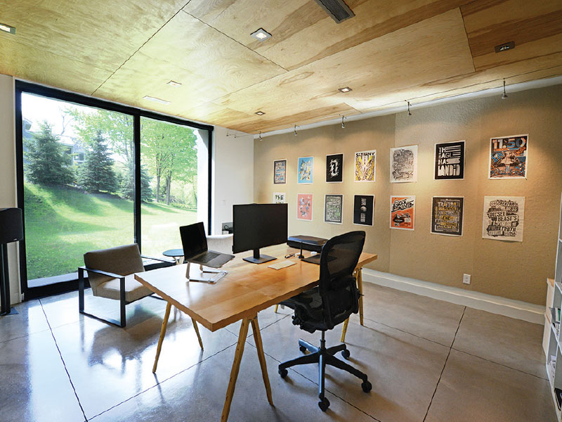 Doug Pedersen's home office