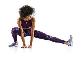 Trainer stretching