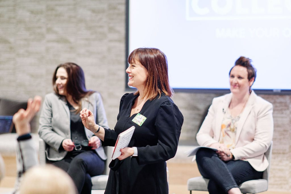 Laura Best leads Passion Collective event