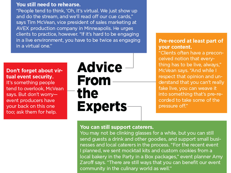 advice from four experts