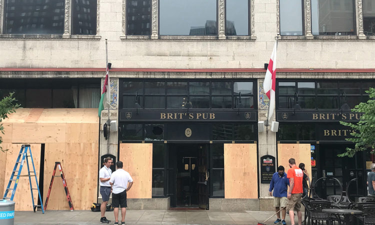 Chaotic Night in Downtown Minneapolis Brings More Damage to Many Businesses