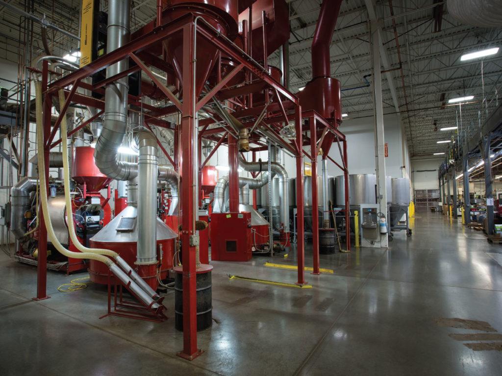 Cameron Coffee factory floor
