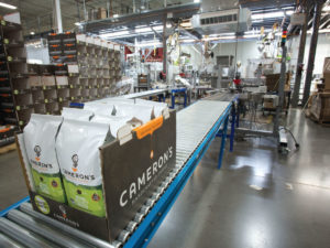 Cameron coffee packaging process
