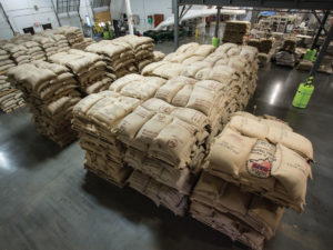 Camerons Coffee pallets of coffee