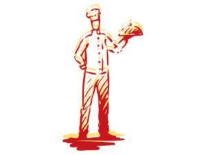 illustration of chef