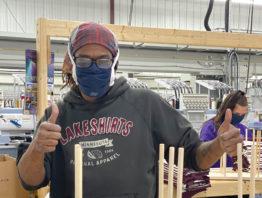 Lakeshirts worker