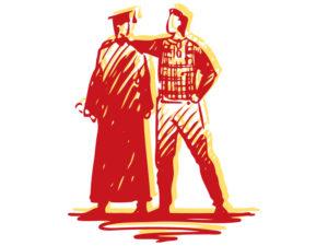 Illustration of graduate