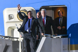 Minnesota Republican lawmakers on Air Force One