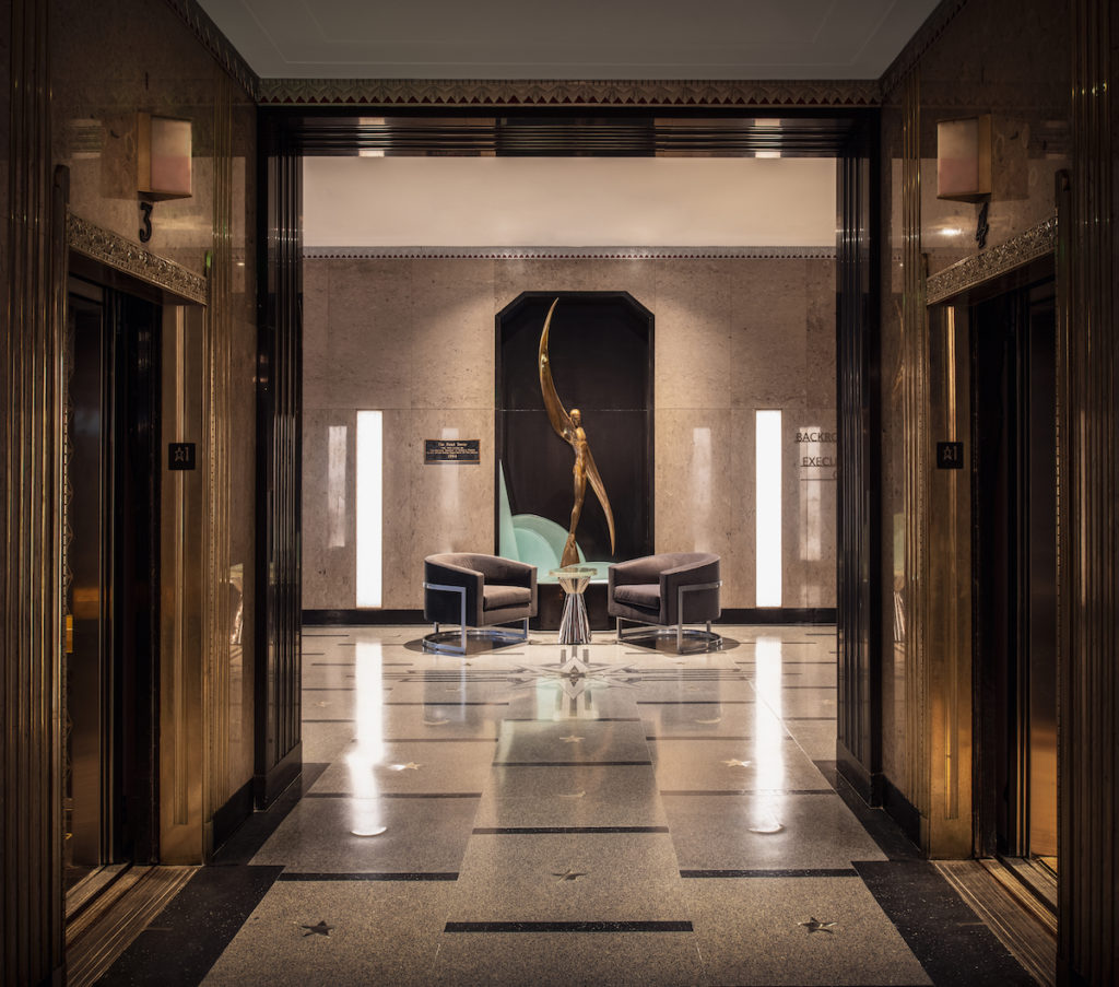 Rand Tower Hotel Lobby