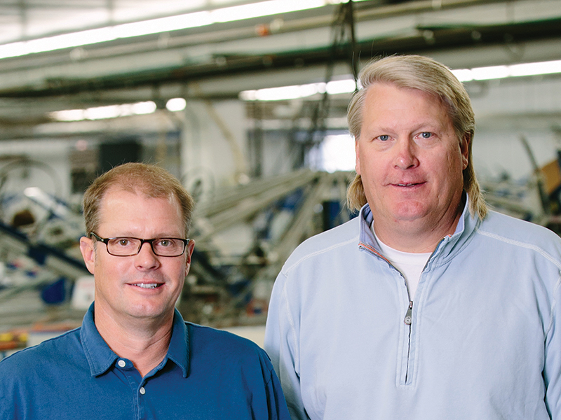Mark Fritz and Michael Hutchinson, Co-CEOs of Lakeshirts