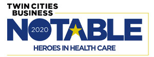Notable Heroes in Health Care 2020 Logo