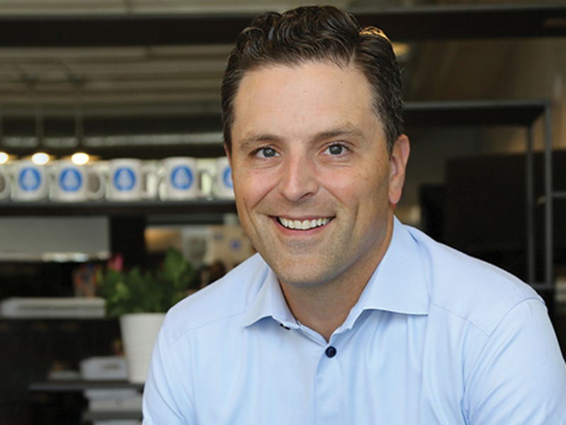 John Thomson, Founder and CEO of PayIt