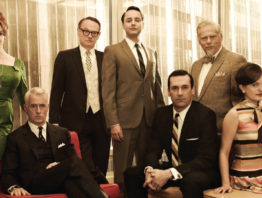 The cast of the TV show Mad Men
