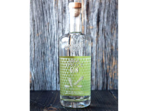 bottle of Boreal Spruce Gin
