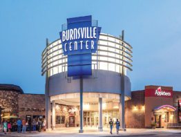 Burnsville Center main entrence