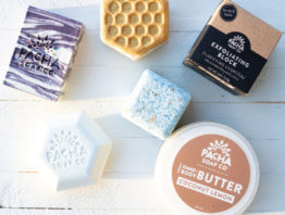 Pacha soap product line