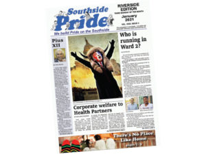 Southside Pride newspaper front page