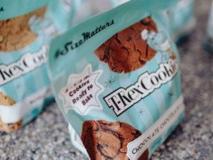 bag of T-Rex cookies