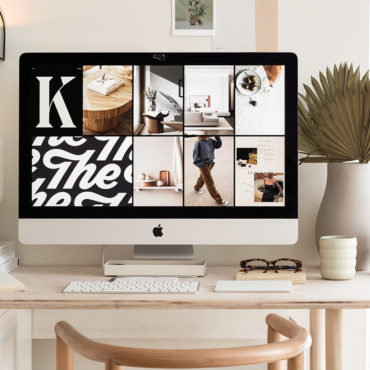 Transforming a Cozy Apartment Into an Inspired Workspace