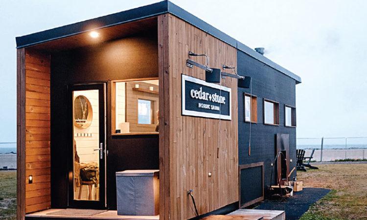 Duluth Builder Capitalizes on Sauna Surge