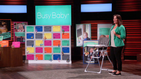 Busy Baby Founder to Appear on Shark Tank